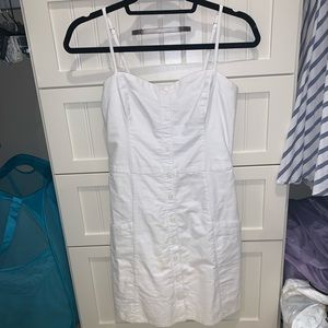 Abercrombie and Fitch White Denim Dress